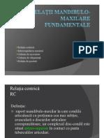 1.Relatii Mandibulo Maxilare Fundamentale