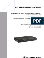 Bedienungsanleitung Digitaler HD Video Recorder
