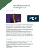10 strategieën voor een succesvol sociaal intranet volgens Dion Hinchcliffe