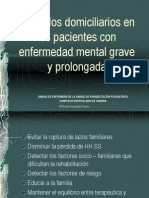 Cuidados Domiciliarios en Los Pacientes Con Enfermedad Mental