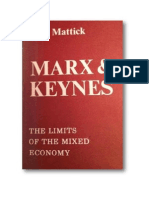 Paul Mattick 1969 Marx Keynes Limits of the Mixed Econ