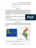 Analysis of well-log data from the White Rose oilfield, offshore Newfoundland.