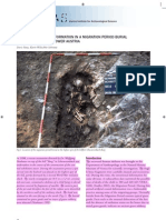 Artificial Cranial Deformation in a Migration Period Burial of ...