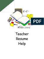 Teacher Packet