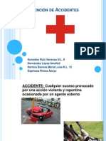 TEMA 22:Prevención de Accidentes