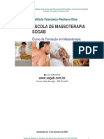 Cruso de Massoterapia