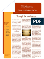 Reflections from the Glorious Qur'an - Issue 2