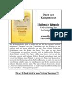 Daan Van Kampenhout - Heilende Rituale