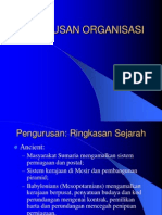 Management of the Organization