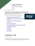Certificados y NPS
