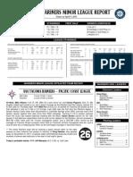 04.06.12 Mariners Minor League Report