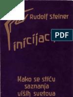 rudolf steiner - inicijacija - kako se stiču saznanja viših svetova