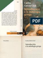 García Gual, Carlos - Introducción a La Mitología Griega