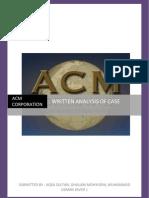 ACM REPOT