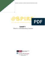 SPIRE Short e Lesson