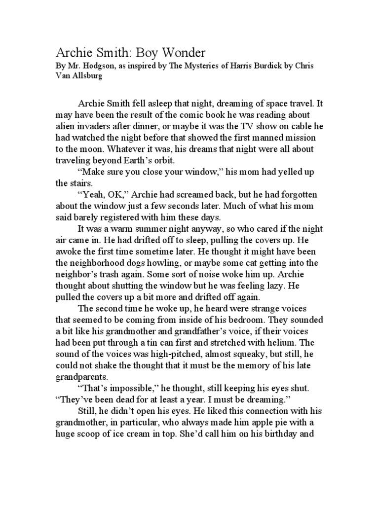 the mysteries of harris burdick pdf