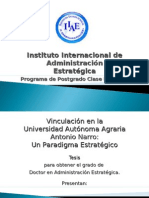 Vinculación en la UAAAN.Un Paradigma Estratégico_Jorge Galo Medina y Silvia Mensoza
