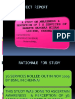PPT on 3G Services of BSNL
