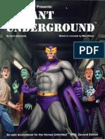 Heroes Unlimited 2nd Ed - Mutant Underground
