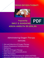 Administering Oxygen Therapy Powerpoint 3
