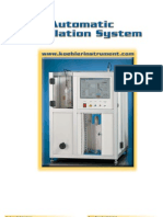 Auto Distillation Analyser