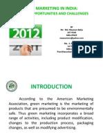 Green Marketing Ppts