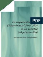 Implementacion Del NCPP 2004 - La Libertad