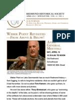 RHS Newsletter Apr 2012