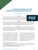 Logros y fracasos de la Latencia como parámetros del diagnóstico clínico