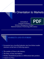 An Orientation to Markets