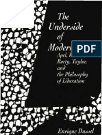 [Enrique Dussel] the Underside of Modernity- Apel, Ricoeur, Rorty, Taylor and the Philosophy of Liberation