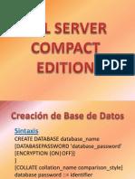 SQL Server Compact Edition