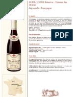 Bourgogne - Réserve - Coteaux Des Moines R