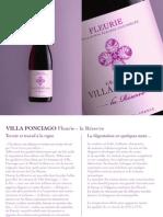 VILLA PONCIAGO Fleurie La Réserve FR