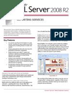 SQLServer2008 R2 ReportingServices Datasheet
