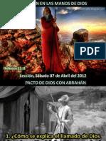 Lección 01 - Abrahán en las manos de Dios