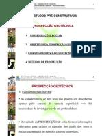 UFBA - Aula 05 - Estudos Preliminares - Prospecção Geotécnica