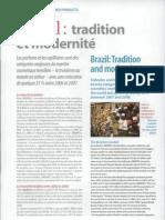 Brésil, tradition et modernité