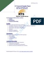 Gat Sample Paper 2