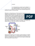 Fundamentos de Un Turbocompresor