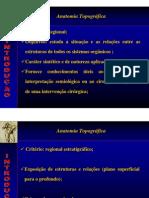Anatomia Topográfica - Membros Aula 01