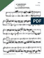 Beethoven 32 Variations - c Minor