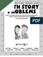 200 Super-Fun Super-Fast Math Story Problems