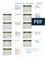 Calendar FY12