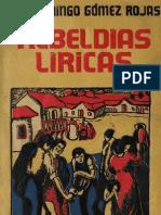 Gómez Rojas, José - Rebeldías líricas