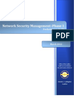 Denver Network Security Management Audit Report - Phase 1 FINAL 03-12-12