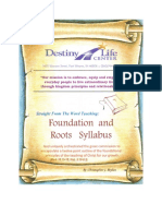 Foundation and Roots Book Posting #1