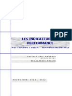 Les Indicateur de Performance