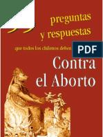 55 Preguntas y respuestas contra el aborto, que todo chileno debe conocer