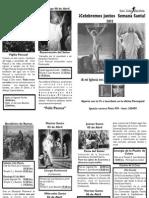 Programa Semana Santa2012